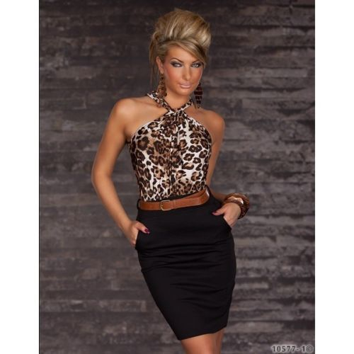 GORGEOUS LEOPARD PRINT SLEEVELESS FORMAL SMART COCKTAIL BUSINESS PENCIL DRESS 8 £19.99 CAN BE ORDERED HERE: http://cgi.ebay.co.uk/ws/eBayISAPI.dll?ViewItem&item=151562576946