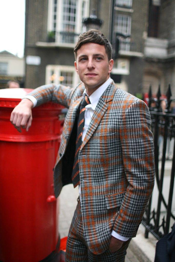 Like the blazer ;) They Are Wearing: London Men's Fashion Week Spring 2014.