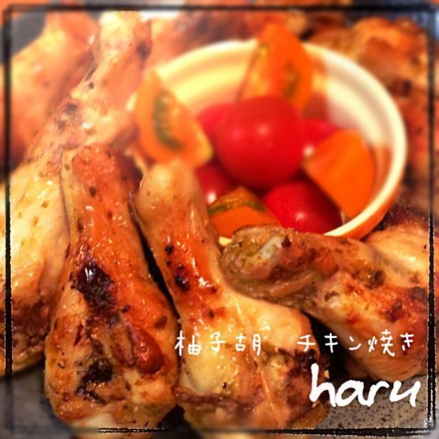 ひ〜〜( ͒˃⌂˂ ͒)から〜い でも、うま〜い(≧∇≦)♡ 真紀子さん、はじめまして 手羽元レシピ見てたら、好きな 柚子胡椒と山椒焼きのレシピ 見つけて、昨日、作りました♪ 山椒、なかったので、ブラパ 振りかけました 柚子胡椒チキンは、ピリ辛で 美味しいです(*^^*)それに、簡単 なので、茄子の天ぷらと併用して 作れました♡ 美味しいレシピ参考にさせていただ きありがとうございました お弁当に入れてた、きゃなみんちゃん、 美味しさ共有できて嬉しいよ(*^^*) 食べともよろしくね^_−☆ - 206件のもぐもぐ - 麻紀子さんの料理 鶏手羽元の柚子胡椒&山椒焼き by WAKUWAKU4724