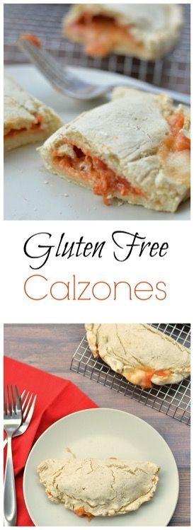 Gluten Free Calzones. How to make gluten free calzone. Easy calzone recipe.   http://www.fearlessdining.com