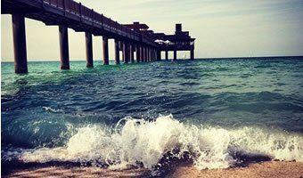É duro eu pôr em palavras por que eu gosto tanto de praia. Tudo sobre ela é renovador para mim, quase como terapia... Terapia da Praia.