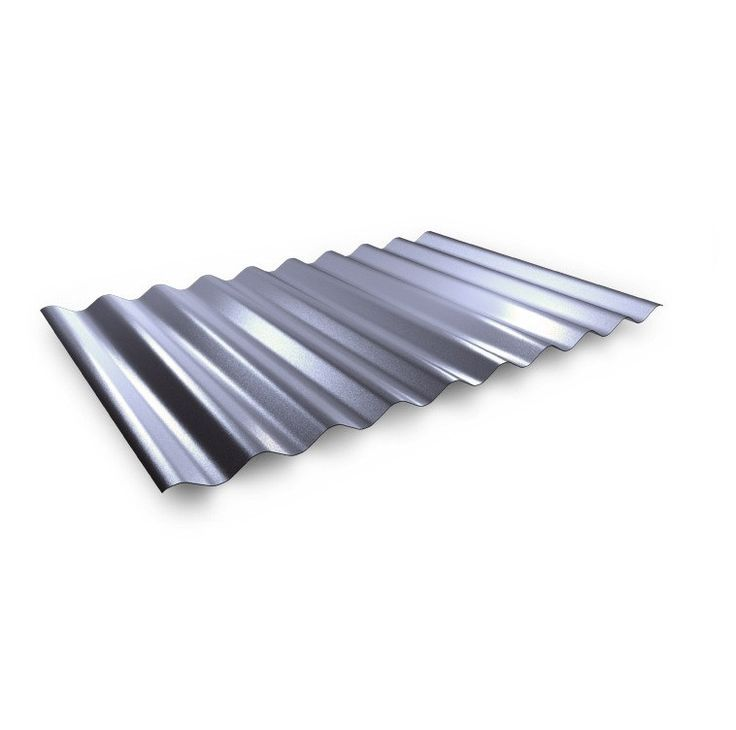 PF25-Corrugated Roofing Cladding Sheet Gloss Polyester.