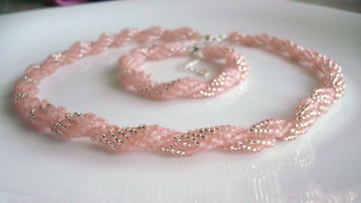 Handmade necklace/Handmade náhrdelník ...MONIKA... www.anabelhandmade.sk