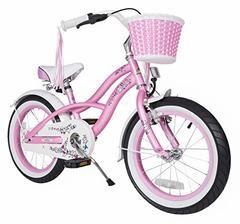 Bikestar 16 Inch (40.6cm) Kids Children Bike Bicycle - Cruiser - Pink