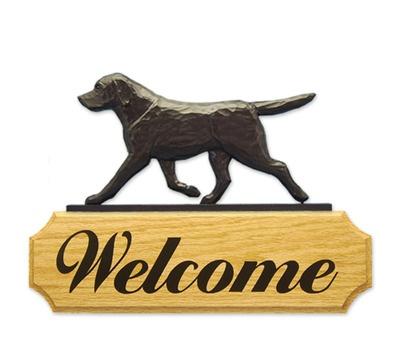 Black Lab Dog Welcome Sign Plaque Www Dogloverstore Com