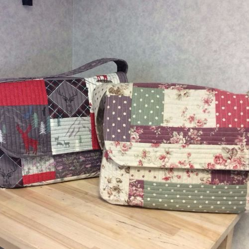 Come and make a Messenger Bag at our 2 day workshop, with day 1 being heldSaturday 16th July and day 2 on Saturday 20th August.  The course runs from 10am until 4pm on day 1 and 10am until 1pm on day 2. Julie will be on hand throughout the day and you will be using ger design and pattern so you can be sure to end up with a beautiful bag. . Tea and coffee are available but please bring your own lunch. The cost of this full course is £45.00 which includes the bag pattern.