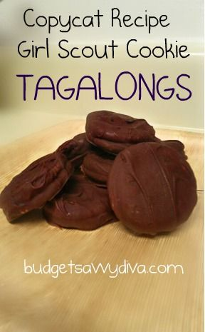 Girl Scout Cookie - Tagalongs | Recipe | Homemade, Copy cat recipe and ...