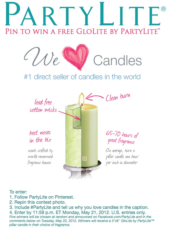 #PartyLite  I have been using PartyLite Candles for over 20 years!  I have been a part of the PartyLite Opportunity for 2.5 years!  I realized PartyLite Consultants do just that SHARE to opportunity to change LIVES  mine has been changed and I am changing lives along the way!  Thank you PartyLite!