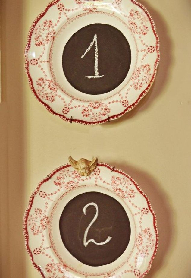 with old plates and saucers , crafts, repurposing upcycling, wall decor