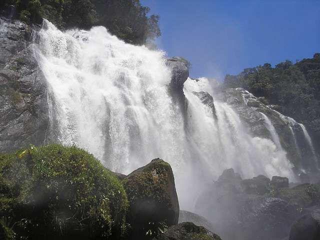 Cachoeira do Elefante em São Paulo.
