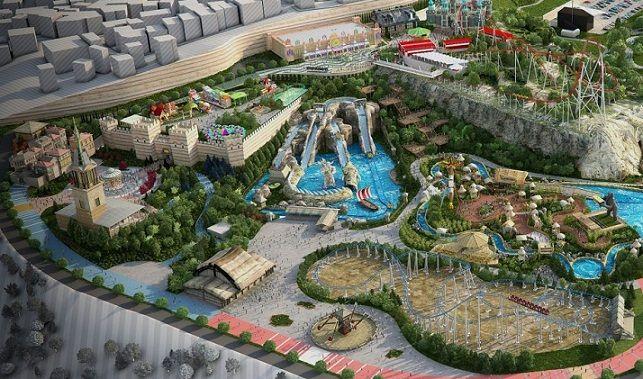 Complexul Vialand din Turcia da lovitura cu un mega parc de distractii