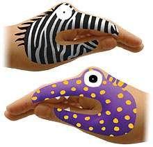 ThinkGeek Brings You Temporary Hand Tattoos #DIY #puppets trendhunter.com