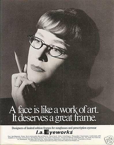 Anna Magnuson LA Eyeworks Ad | by Nadowawoman