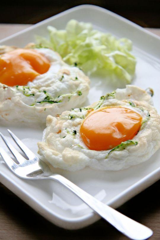 Jajka na puszysto