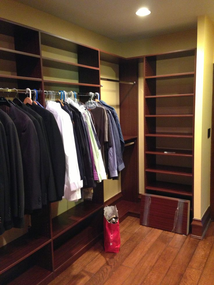 Walk In Closet, Designed By CBD Designer Kate B. In East Michigan
