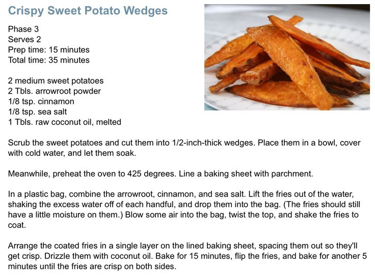 Sweet Potato Fries, Fast Metabolism Diet Must try these