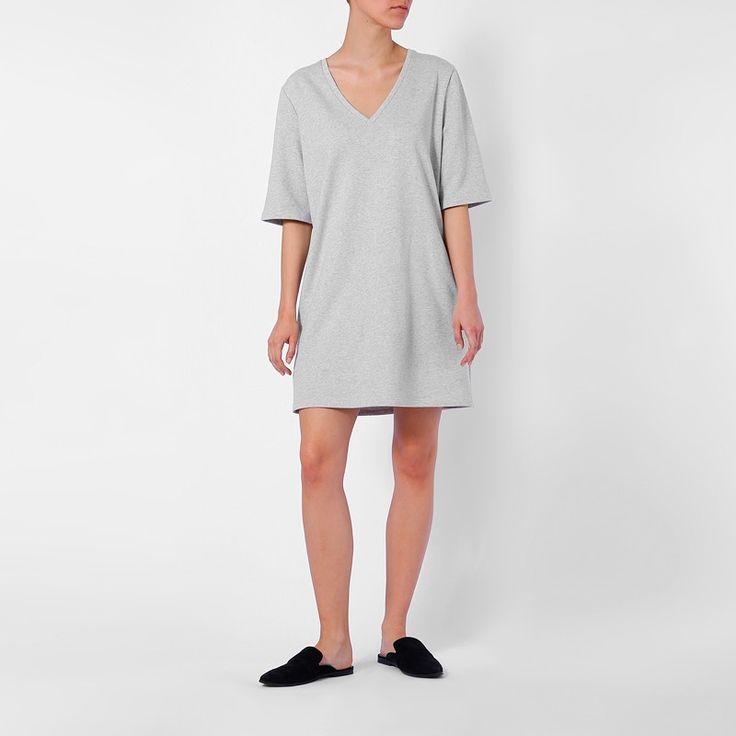 Organic Cotton dress TWO SIDED by fair fashion label JAN 'N JUNE
