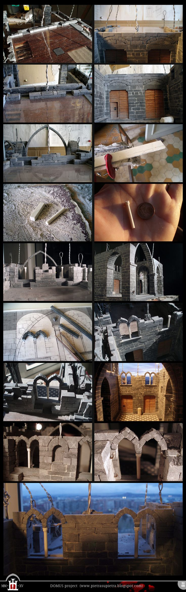 Domus project 137-149: Bìfore (mullioned windows) (part 1)