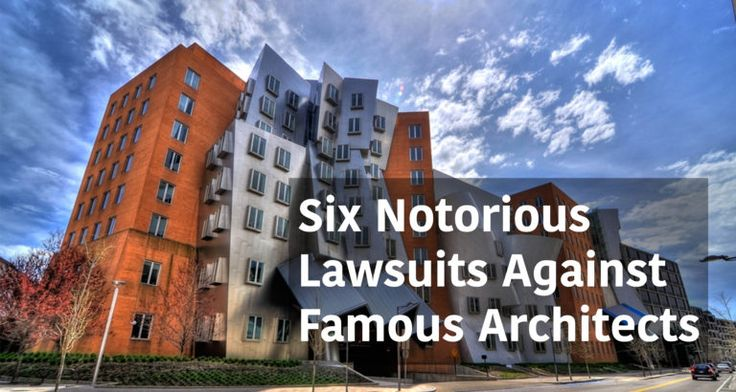 Six Notorious Lawsuits Against Famous Architects - Arch2O.com