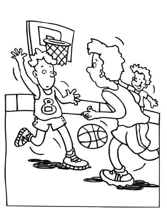 30 best Bàsquet images on Pinterest   Basketball, Coloring pages and ...