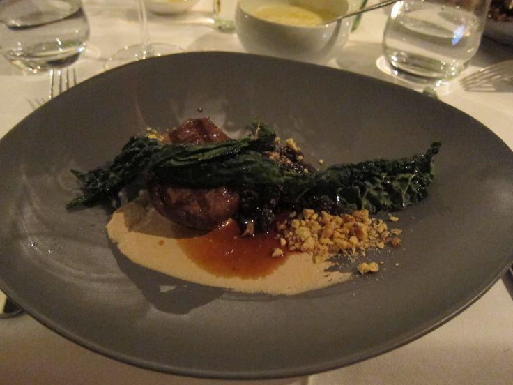 Racine Restaurant - Beef A: 3.5 B:3