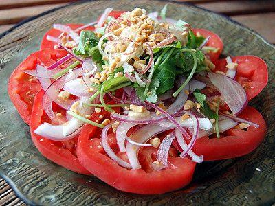 トマトの香味サラダランプナー風味