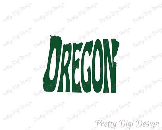 Digital Oregon Word Art, Oregon jpg, png, pdf, eps, svg, Oregon logo design, Oregon word in map shape, Oregon wall decor, Oregon printable