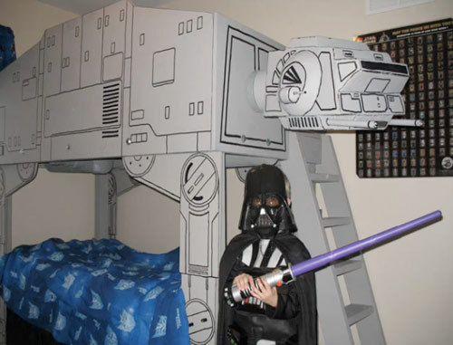 24 best Star Wars Room images on Pinterest Bedroom ideas, Kids - star wars bedroom ideas
