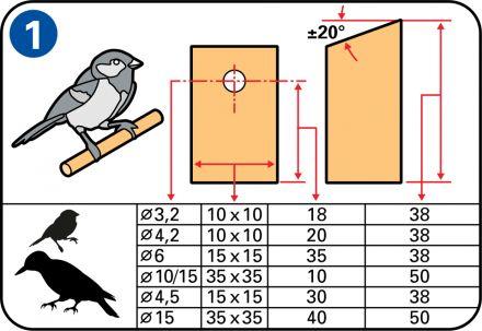 Het maken van een vogelhuisje is simpel en leuk, z…