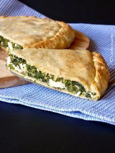Di pasta impasta: Torta salata greca con spinaci e feta (Spanakopita)