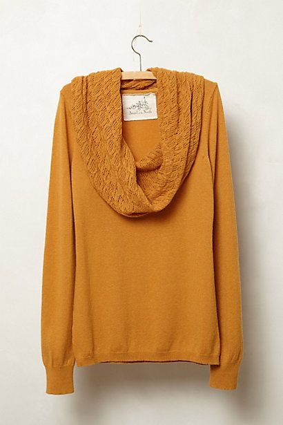 Mustard cowlneck sweater #fallmusthave