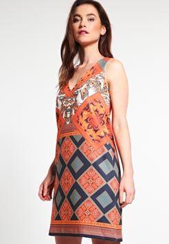 Anna Field - Sukienka letnia - orange/black