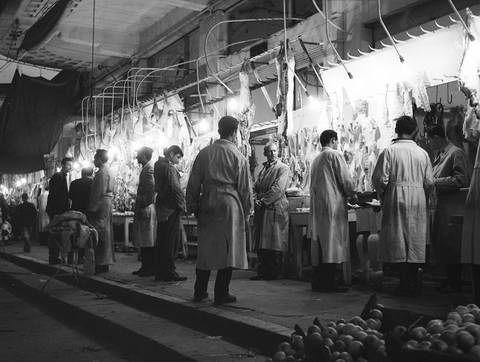 Tloupas.gr -Κρεοπωλείο στη Λάρισα 1960