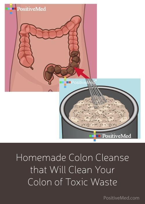4-Ingredient Apple-Honey Mixture which contains the fiber, nutrients, and vitamins the body needs to expel toxins while helping heal the body. The colon cleanser contains 1 apple, 1 tbsp- flax seed, 1 tbsp- Chia, 1 tbsp- honey and cup of water....add a bit of oj too
