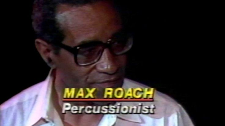 1982 - News - Max Roach at The Kool Jazz Festival w/Will Spens - WABC-TV7 New York Posted on YouTube by: newsarcheology Find it here: https://youtu.be/nRY0E4aRIqU Uploaded on April 14 2017 at 11:14PM