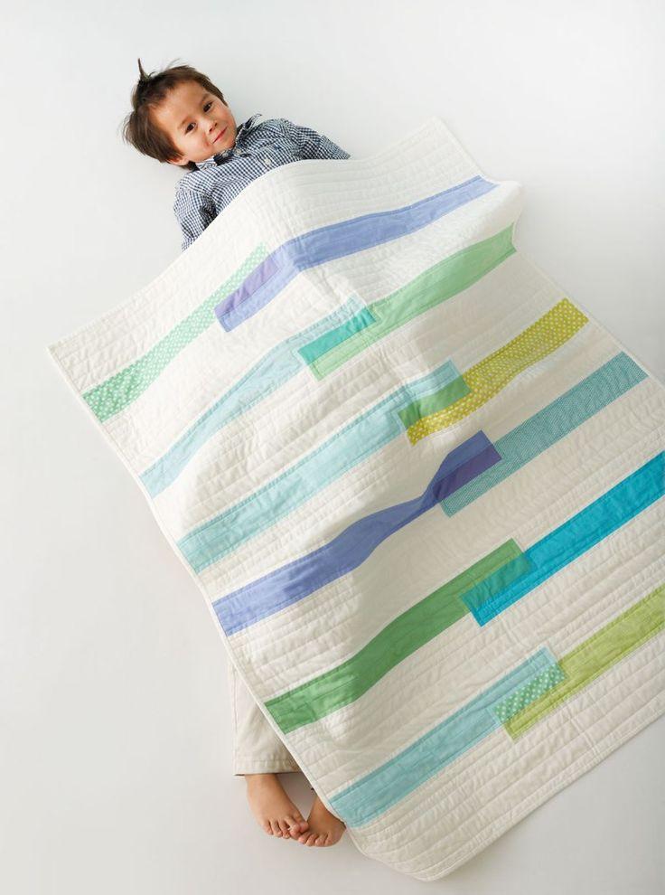 A la fois simple et original! - Liesl Gibson-The Textured Quilt Block