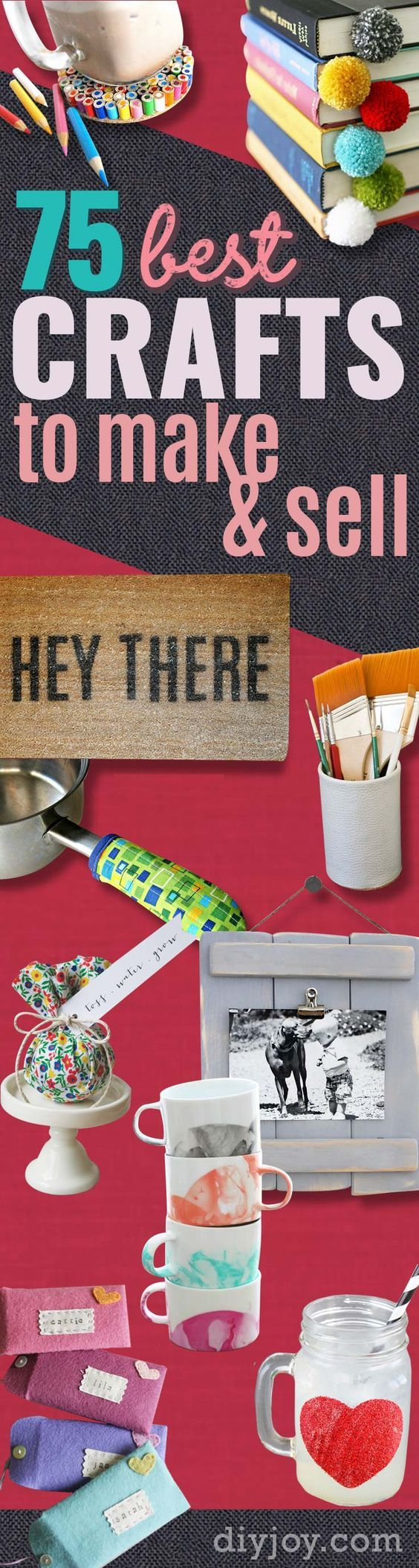 7 beyond easy crafts you can make and sell online happy for Making craft items to sell