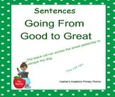 Stretching a Sentence Smartboard Going From Good to Great