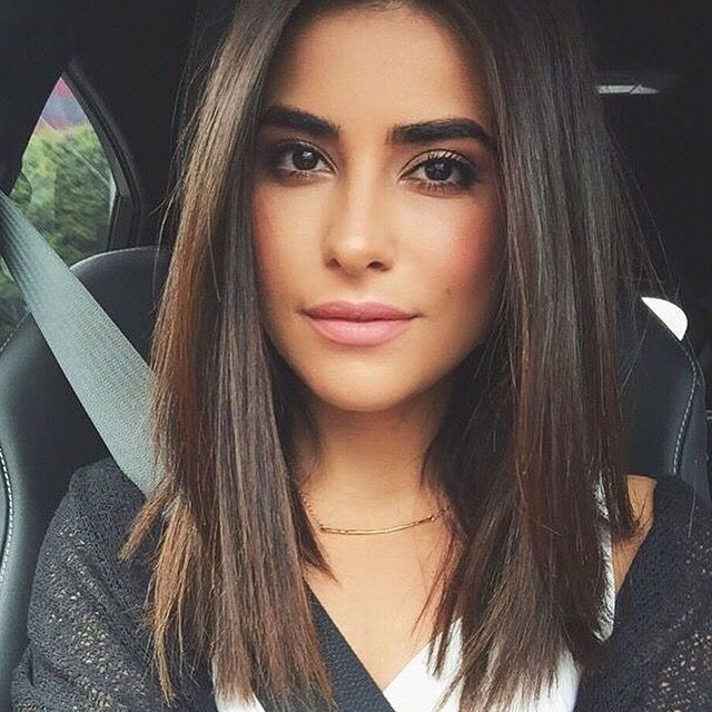 Best 25 Shoulder length straight hair ideas on Pinterest  Medium straight hair Shoulder