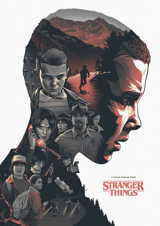 Awesome Fan Art Pieces For Netflix's Stranger Things