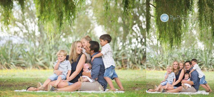 Outdoor Family Portraits | Pipi Photography | Dunedin Family Photographer