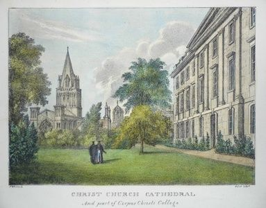 Christ Church Cathedral and part of Corpus Christi College | Sanders of Oxford