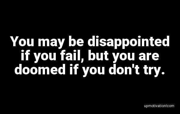 You may be disappointed if you