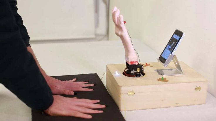 True Love Tinder Robot, Talking Robotic Hand That Helps Users Find Love Using the Tinder App