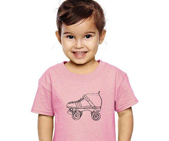 NEW~ Toddler Roller Skate Shirt Roller Derby Cotton Crewneck http://etsy.me/2tkhcrG via @Etsy #rollerskate #rollerderby
