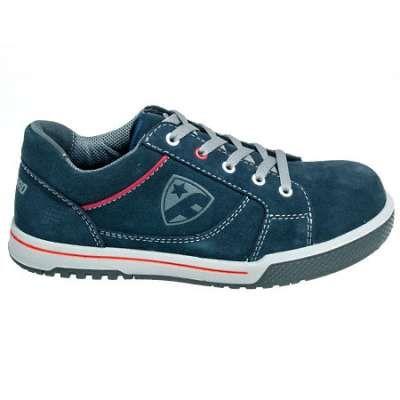 FootGuard Shoes: Men's Steel Toe ESD 741955 Suede Freestyle Work Shoes  - Steel Toe Tennis Shoes - Men's Steel Toe Shoes - Footwear