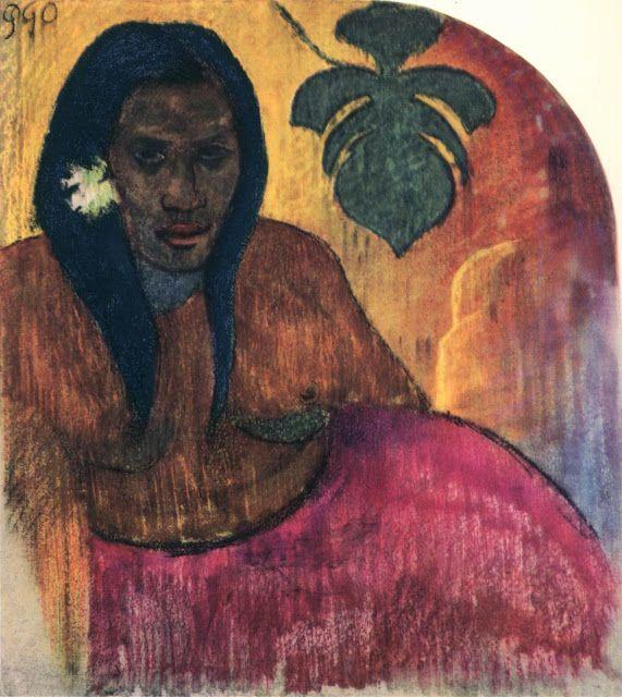 Γυναίκα από την Ταϊτή (1900) Μουσείο Νέας Υόρκης στο Μπρούκλιν