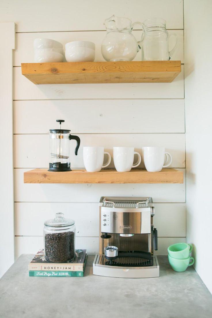 Fixer upper kitchen shelves - Fixer Upper House