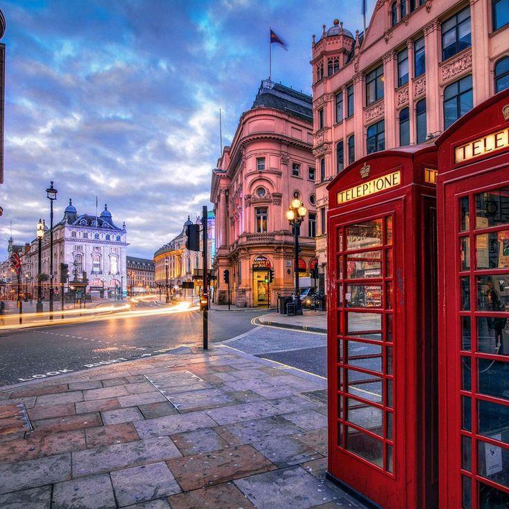 【世界の風景】ロンドンの街