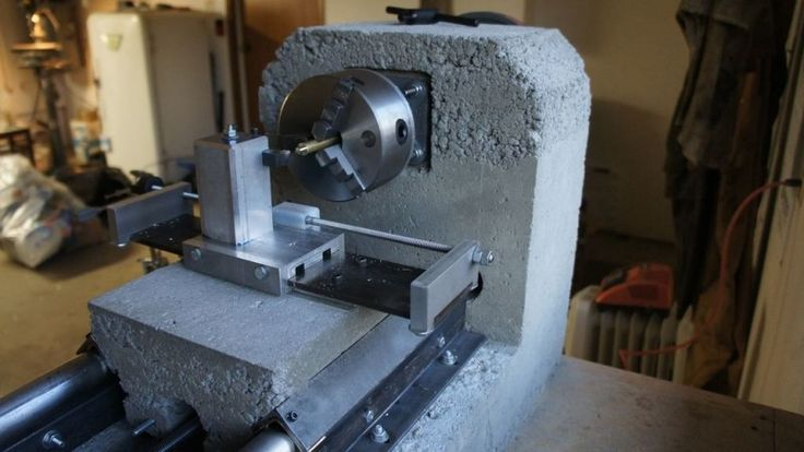 A Heavy Duty Diy Lathe Homemade Lathe Amp Milling Machine